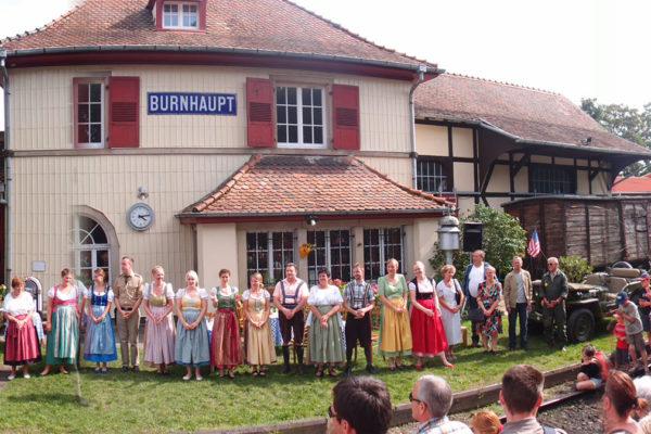 La ligne du train Thur Doller Alsace fête ses 150 ans.
